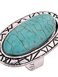 cheap -Knuckle Ring Turquoise Green Turquoise Alloy Ladies Personalized Classic Adjustable / Women's