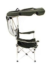Недорогие -Стулья для рыбалки Облегченное туристическое кресло Кресло с тентом от солнца Компактность Защита от солнечных лучей Устойчивость к УФ Ультрафиолетовая устойчивость Оксфорд для / Складной