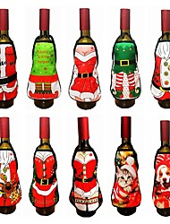 cheap -Gift Tags Gift Boxes Wine Bags Santa Christmas Holiday Commercial Indoor Outdoor Hotel Dining Table ChristmasForHoliday Decorations