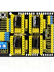 abordables -keyestudio cnc shield v3 graveur pour arduino
