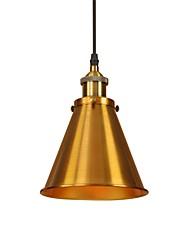 cheap -1-Light 18 cm Mini Style / Bulb Included / Eye Protection Pendant Light Metal Chic & Modern 110-120V / 220-240V