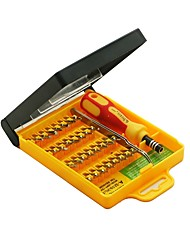 cheap -32 in 1 Precision Screw driver Kit with Tweezer Handle & Torx Hex Bits & case Multifunction Screwdriver