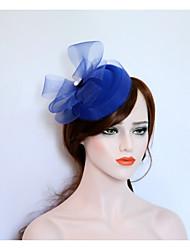 cheap -Flannelette / Net Fascinators / Hats with 1 Wedding / Party / Evening Headpiece