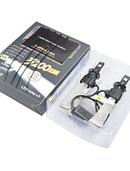 cheap -2pcs H4 / H7 Car Light Bulbs Integrated LED OSRAM 3200lm Headlamp