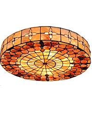 Недорогие -диаметр 50 см тиффани потолок свет оболочка тень гостиная спальня столовая заподлицо