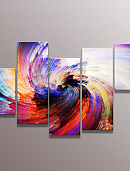 cheap -Canvas Print Abstract,Five-piece Suit Canvas Vertical Panoramic Print Wall Decor For Home Decoration