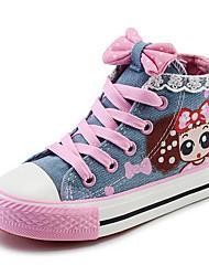 cheap -Girls' Comfort Canvas Sneakers Little Kids(4-7ys) / Big Kids(7years +) Dark Blue / Light Blue Spring / EU37