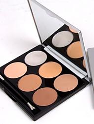 cheap -2 Colors Powders Concealer / Contour Dry / Matte / Mineral Concealer Women / Face Alcohol Free Makeup Cosmetic