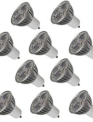 cheap -10pcs 3W GU10/E27/E14/GU5.3 LED Spotlight 250LM Warm/Cool White for Kitchen Hotel Bedroom Lighting Lampada AC220-240V