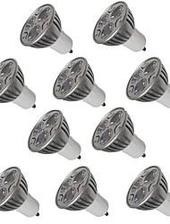 cheap -10pcs 3W GU10/E27/E14/GU5.3 LED Spotlight 250LM Warm/Cool White for Kitchen Hotel Bedroom Lighting Lampada AC220-240V