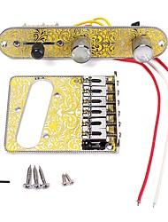 cheap -Professional Bridge Guitar Electric Guitar Metal High Quality Musical Instrument Accessories