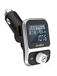 abordables -double usb voiture kit bluetooth mp3 lecteur chargeur mains libres appel sans fil fm émetteur modulateur avec écran lcd