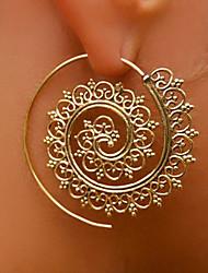 cheap -Women's Stud Earrings Hoop Earrings Statement Ladies Personalized Earrings Jewelry Gold / Silver For Stage Club