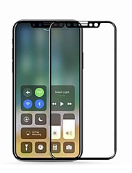 cheap -Screen Protector for Apple iPhone X Tempered Glass 1 pc 9H Hardness / 2.5D Curved edge / Scratch Proof