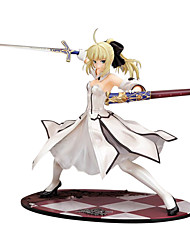cheap -Anime Action Figures Inspired by Fate / stay night PVC(PolyVinyl Chloride) 23 cm CM Model Toys Doll Toy