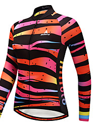 cheap -Miloto Women's Long Sleeve Cycling Jersey Winter Camouflage Plus Size Bike Jersey Top Mountain Bike MTB Road Bike Cycling Sports Clothing Apparel / Stretchy