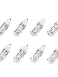 cheap -8pcs 2 W LED Corn Lights 180 lm GU10 T 36 LED Beads SMD 5730 White 110-130 V