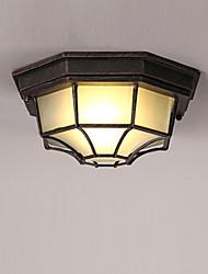 cheap -1-Light MAISHANG® 29 cm Flush Mount Lights Metal Glass Modern Contemporary 110-120V / 220-240V / E26 / E27