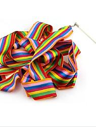 cheap -1PCS Design Dance Ribbon Gym Rhythmic Gymnastics Rod Art Ballet Twirling Stick