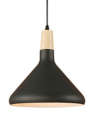 cheap -1-Light 22 cm Anti-Glare / Mini Style / Bulb Included Pendant Light Aluminum Painted Finishes Retro 110-120V / 220-240V