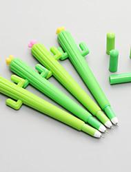 Недорогие -Гелевая ручка Ручка Гелевые ручки Ручка, Силикон Черный Цвета чернил Назначение Школьные принадлежности Офисные принадлежности В упаковке 12 pcs
