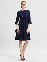 cheap -Half Sleeve Chiffon / Satin Wedding / Party / Evening Women's Wrap With Split Joint Coats / Jackets