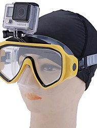 cheap -Diving Mask Waterproof Two-Window - Diving PP - For Adults Yellow / Anti Fog / Dry Top