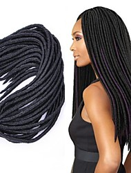 cheap -Braiding Hair Afro Havana Twist Braids 100% kanekalon hair Kanekalon 1pc Hair Braids Medium Length Long Crochet Faux Dreads
