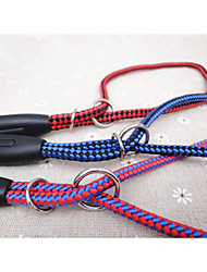 cheap -Dog Leash Portable Color Block Nylon