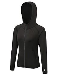cheap -Women's Running Base layer Fashion Mountain Bike / MTB Running Exercise & Fitness Sweatshirt Long Sleeve Activewear Breathability