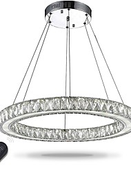 cheap -1-Light 60 cm Crystal / Bulb Included / Adjustable Pendant Light Metal Electroplated Chic & Modern 110-120V / 220-240V / Dimmable