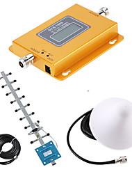 Недорогие -lte 4g 1800 мГц жк-усилитель сигнала сотового телефона 65dbi усиление 4g усилитель ретранслятора сигнала комплект антенны использования автомобиля присоска антенны