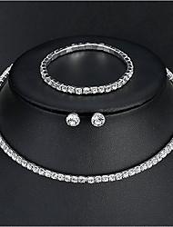 abordables -Femme Basique Elégant Des boucles d'oreilles Bijoux Argent Pour Mariage Quotidien