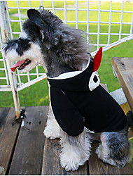 cheap -Dog Hoodie Dog Clothes Cartoon Cotton Costume For Spring &  Fall Winter Men's Women's Casual / Daily