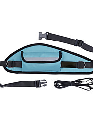 cheap -Hands Free Leash Walking Solid Fabric