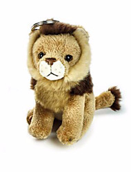 cheap -Keychain Lion Pure Cotton Kid's Adults' Toy Gift