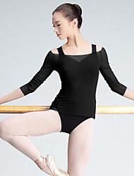cheap -Ballet Top Women's Performance 3/4 Length Sleeve Tulle