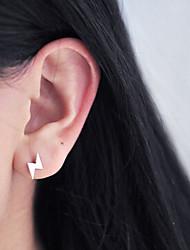 cheap -Women's Stud Earrings Ladies Sterling Silver Earrings Jewelry Silver For Daily Casual
