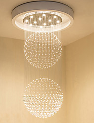 cheap -12 Bulbs 80 cm Crystal / Bulb Included / Designers Chandelier Metal Electroplated Chic & Modern 110-120V / 220-240V