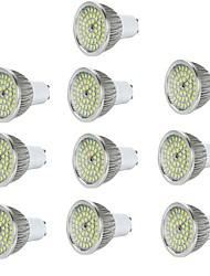 cheap -10pcs 6 W LED Spotlight 600 lm E14 GU10 GU5.3 48 LED Beads SMD 2835 Decorative Warm White Cold White 85-265 V / RoHS