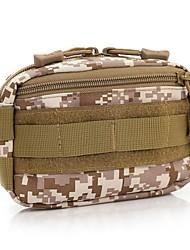 Недорогие -5 L Нагрудная сумка Поясные сумки Охота Пешеходный туризм Рыбалка Быстровысыхающий Ткань Нейлон