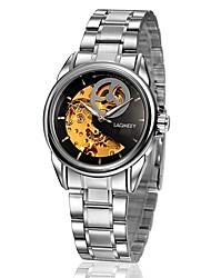cheap -Men's Fashion Watch Dress Watch Mechanical Watch Automatic self-winding Analog White Black