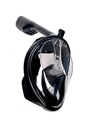 cheap -Fonoun Diving Mask Full Face Mask Single Window - Swimming For Adults Black / 180 Degree View / Anti Fog