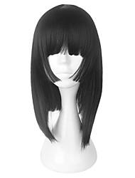 Недорогие -Парики для Лолиты Onmyoji Сладкое детство Черный Лолита Парики для Лолиты 18 дюймовый Косплэй парики Парики Хэллоуин парики