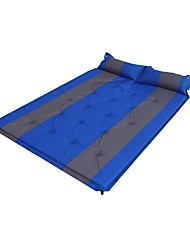 cheap -Sleeping Pad Self-Inflating Sleeping Pad Air Pad Outdoor Camping Breathable Fitness Thick Camping / Hiking Beach Traveling for 2 person All Seasons Yellow Red Blue / Double Size