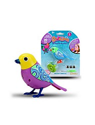 cheap -Electronic Pets Bird Animal Singing New Design with Sound Sensor Rubber Kid's Adults' Toy Gift