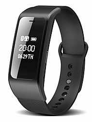 cheap -Smart Bracelet Smartwatch for iOS / Android Calories Burned / Long Standby / Hands-Free Calls / Water Resistant / Water Proof / Pedometers Pedometer / Call Reminder / Sleep Tracker / Sedentary