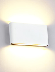 cheap -Simple / Country / Novelty Wall Lamps & Sconces Metal Wall Light 85-265V 12 W / LED Integrated