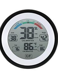 Недорогие -высокоточный мини-электронный термометр гигрометр бытовой креативный закрытый настенный психрограф