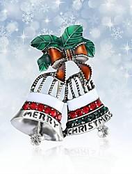 Недорогие -Жен. Броши Дамы Простой Элегантный стиль Стразы Брошь Бижутерия Серебряный Назначение Рождество Подарок